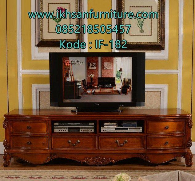 JualMeja Tv Jati Minimalis Terbaru Modern ModelMeja Tv Jati…