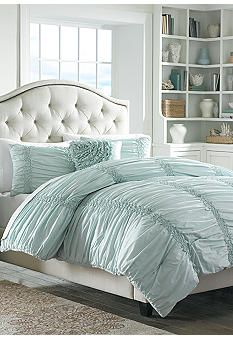 MaryJane's Home Cotton Clouds Blue Bedding Collection #Belk #Bedding