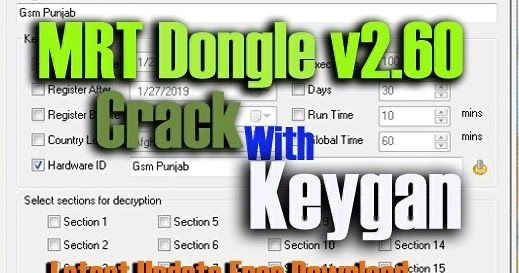 DownloadMRT Dongle v2 60 Crack With Keygan Feature: Unlock