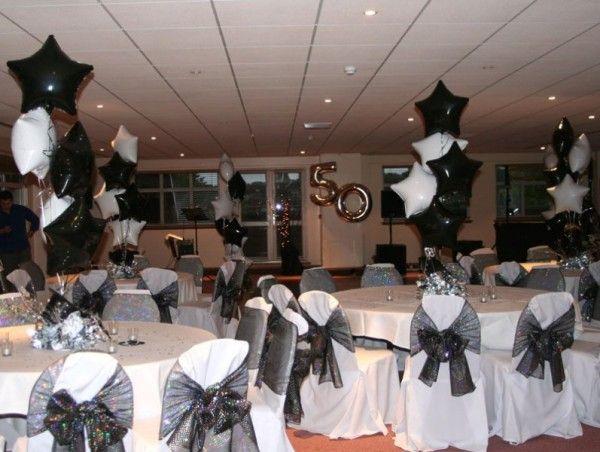 Theme Party Ideas : Black and White Theme Party