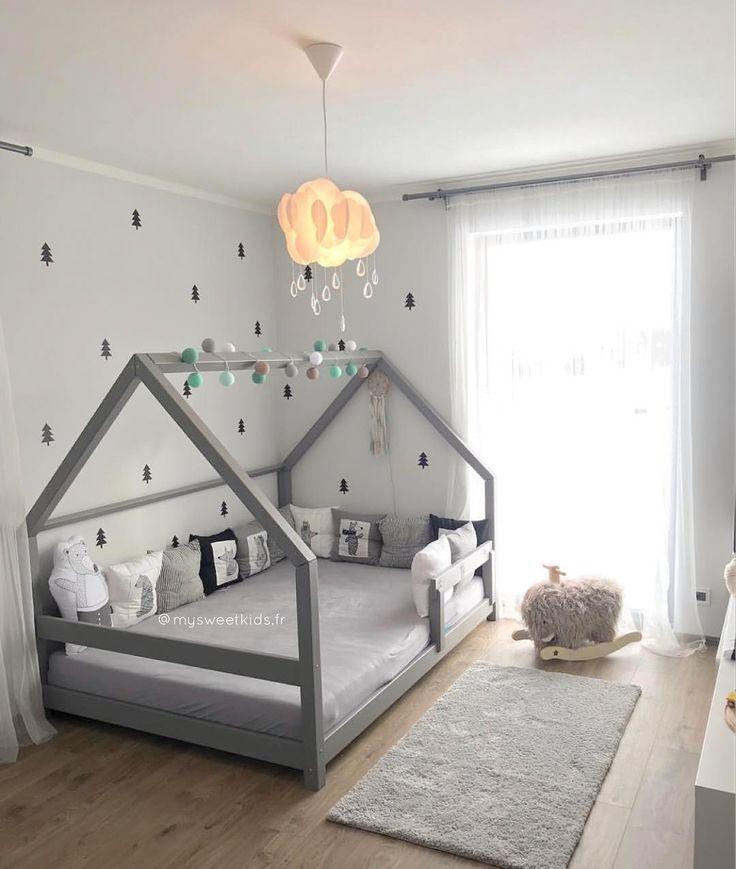 Unser Bett TERY ist in all seinen Formen erhaben! 😍 Zögern Sie nicht und zaubern Sie Ihrem Kind ein schönes Zimmer! 🤩 • • • BETT TERY  € …