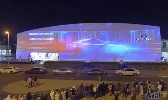 Infiniti dealer unveils largest video billboard in…