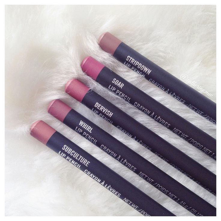 Mac Lip Liners Stripdown Soar Dervish Whirl Subculture  Instagram: @catherine.mw