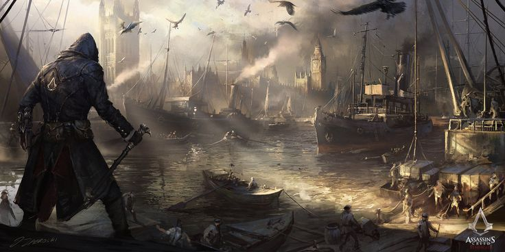 Assassin's Creed: Syndicate Westminster River by daRoz on DeviantArt