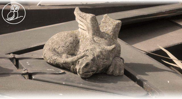 C'era un #drago sul #Regent's Canal...
