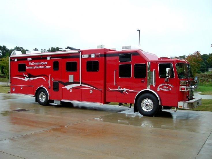 Carroll County Fire Rescue Sutphen Command Truck | Bombeiros