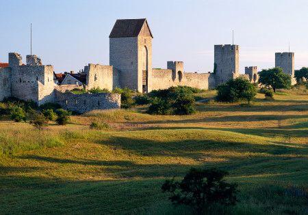 Visby on Gotland via http://www.visitsweden.com/schweden/Regionen--Stadte/Sudschweden/Gotland