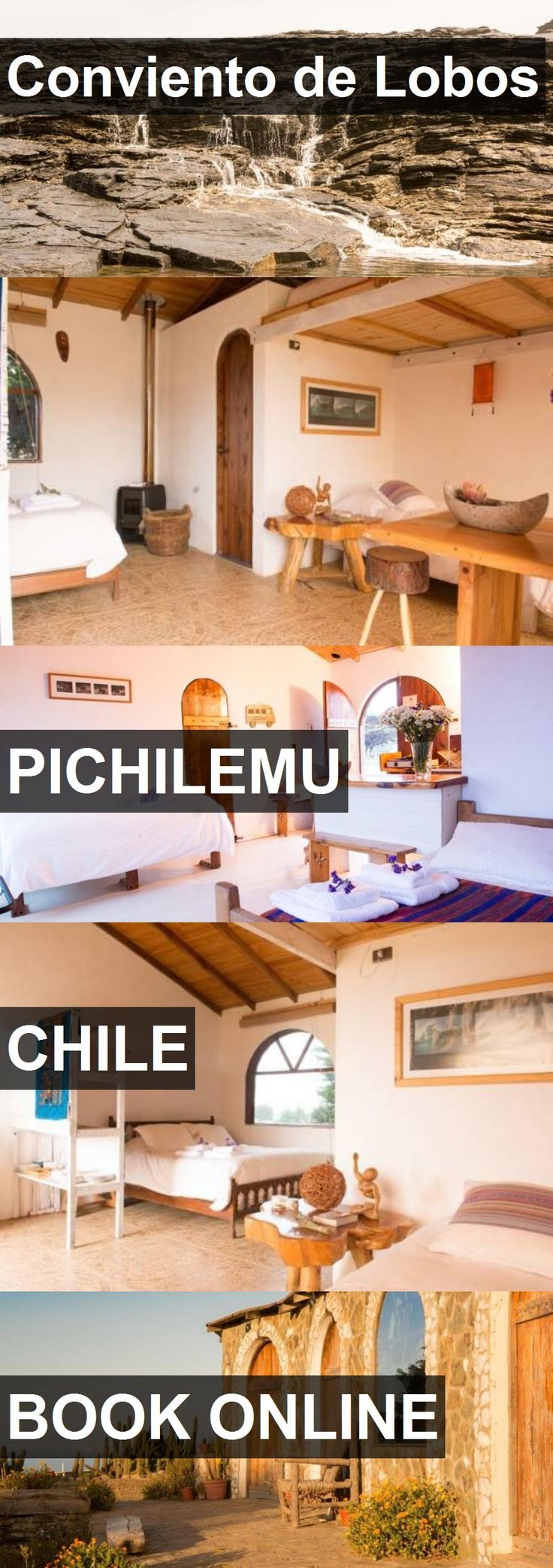 Hotel Conviento de Lobos in Pichilemu, Chile. For more information, photos, reviews and best prices please follow the link. #Chile #Pichilemu #travel #vacation #hotel