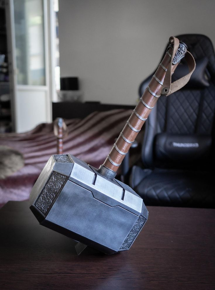 Thor Hammer Hammer Of Thor Cosplay Prop Life Size Etsy Thor Cosplay Thors Hammer Cosplay Props