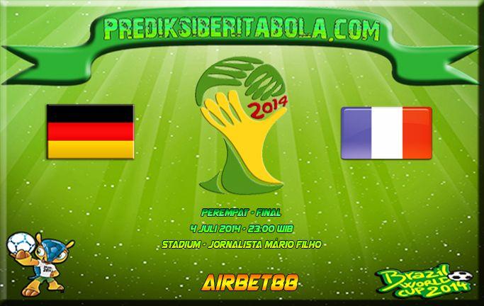Prediksi Bola Jerman Vs Prancis 4 Juli 2014