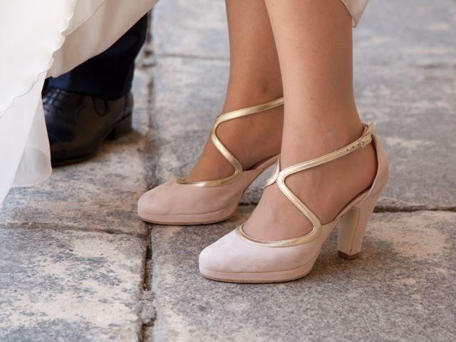blog-novias-beatriz-alvaro-vestidos-novia-a-medida-alta-costura-madrid. Zapatos novia de Jorge Larrañaga