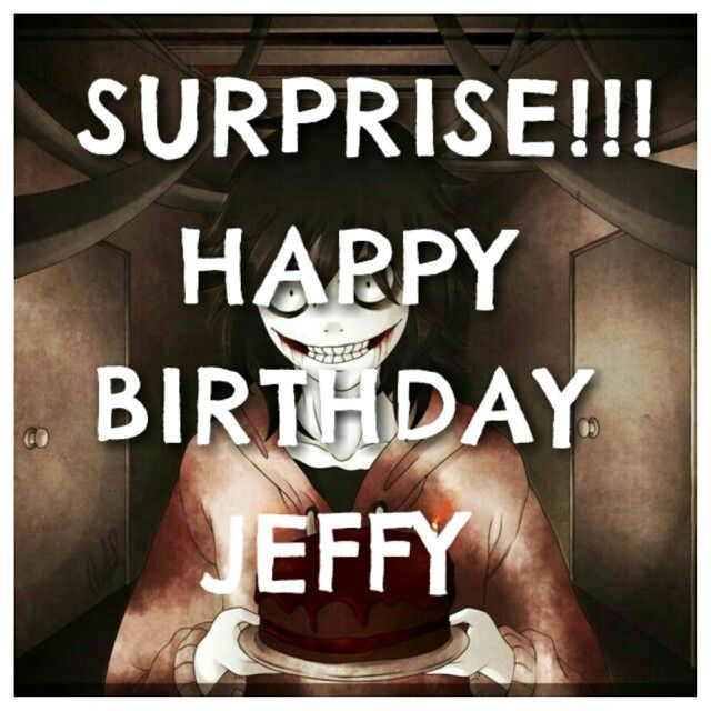 Serial Killer Happy Birthday