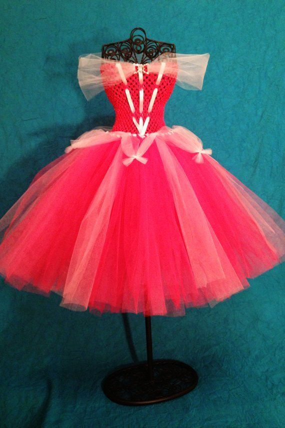 Princess Aurora Tutu Dress (Girls 2T- 5T)