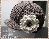 free crochet newsboy hat patterns for women - Bing Images