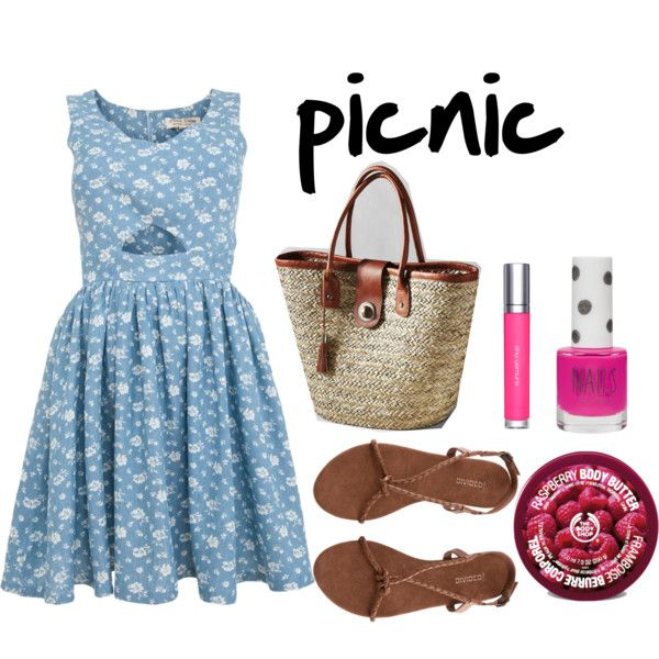 """picnic outfit"" by onlyfashionblog on Polyvore"