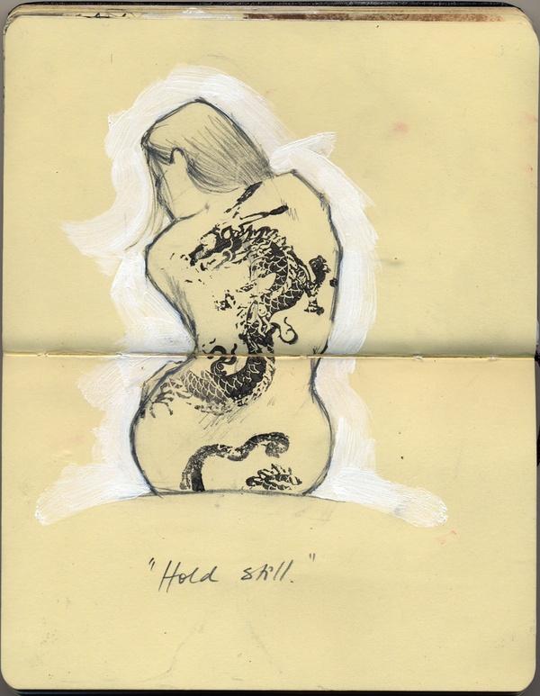 "Sketchbook ""29 days of August"" by Suzanna Schlemm, via Behance"
