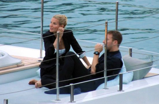 Gwyneth Paltrow: Gwyneth Paltrow and Chris Martin logged time on a yacht in September 2012 as she celebrated her 40th birthday in Italy.