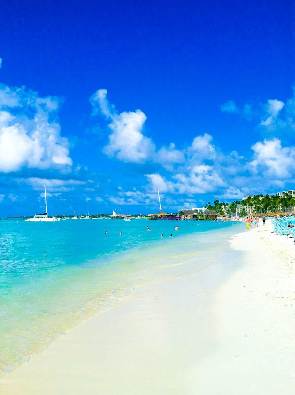Palm Beach, Aruba. I want to go see this place one day. Please check out my website thanks. www.photopix.co.nz