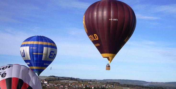 Romantische Ballonfahrt für Zwei Münsingen #Ballon #Geschenk #Jahrestag