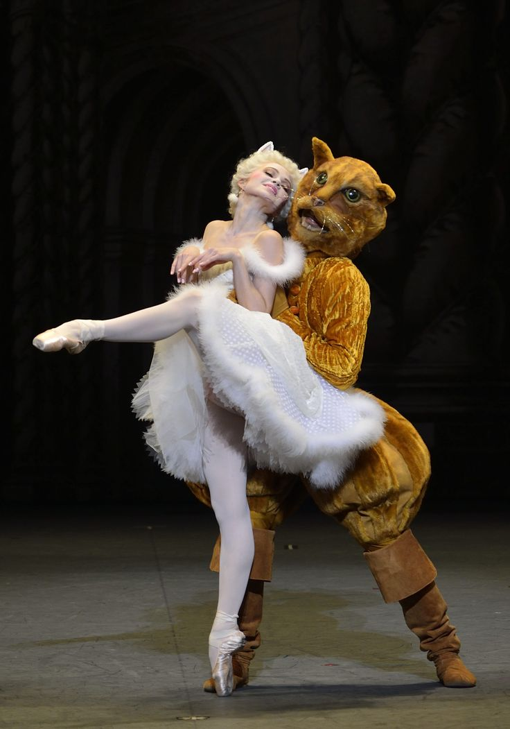Elina Miettinen as the White Cat in Act 3 from Alexei Ratmansky's Sleeping Beauty, American Ballet Theatre. Photo by Gene Schiavone