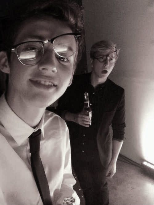 Troye Sivan and Tyler Oakley
