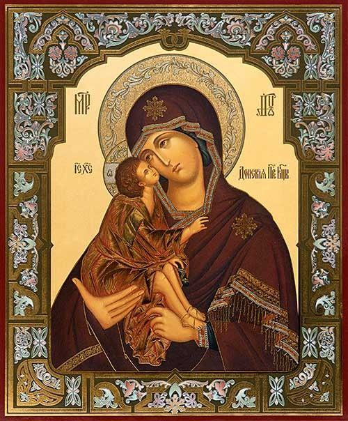 Mother of God of the Don - St. Elisabeth Convent -  #CatalogOfGoodDeeds…