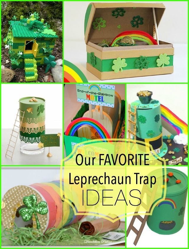 our favorite leprechaun trap ideas: