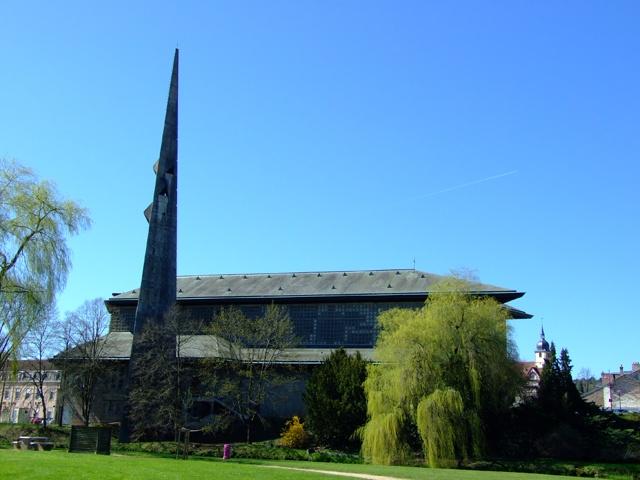 Eglise Saint-Remy de Baccarat © OT Baccarat