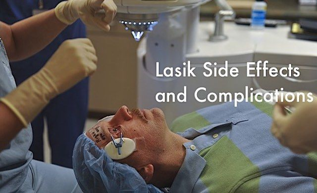 Some people are not awareof lasik side effects and complications because they don't understand that lasik procedure is a 'surgery'. It's not just a simple 'magical laser procedure'. Agreed that it is not very complicated and time-taking but it is a surgery nonetheless. Once you understand that lasik is a surgery, you will also realize