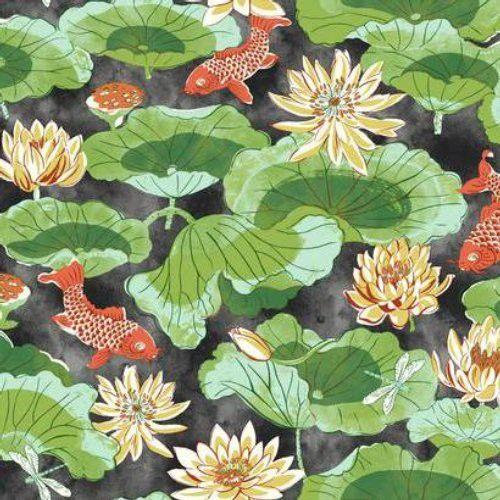 Waverly LOTUS LAKE WC7560 Wallpaper