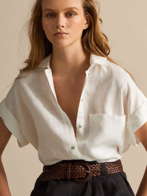 390ed3e22 Women's Shirts and Blouses | Massimo Dutti Spring Summer 2019 ...