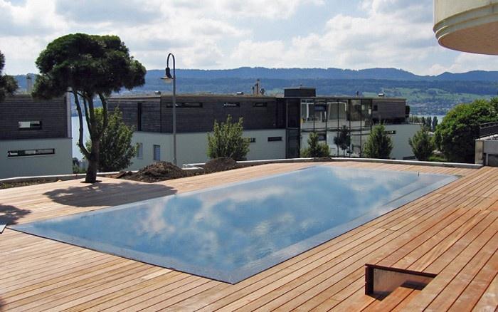 Piscines de jardin - vivell+co SA, Techniques pour piscines
