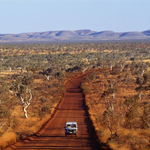 Driving The Kimberley in Western Australia.