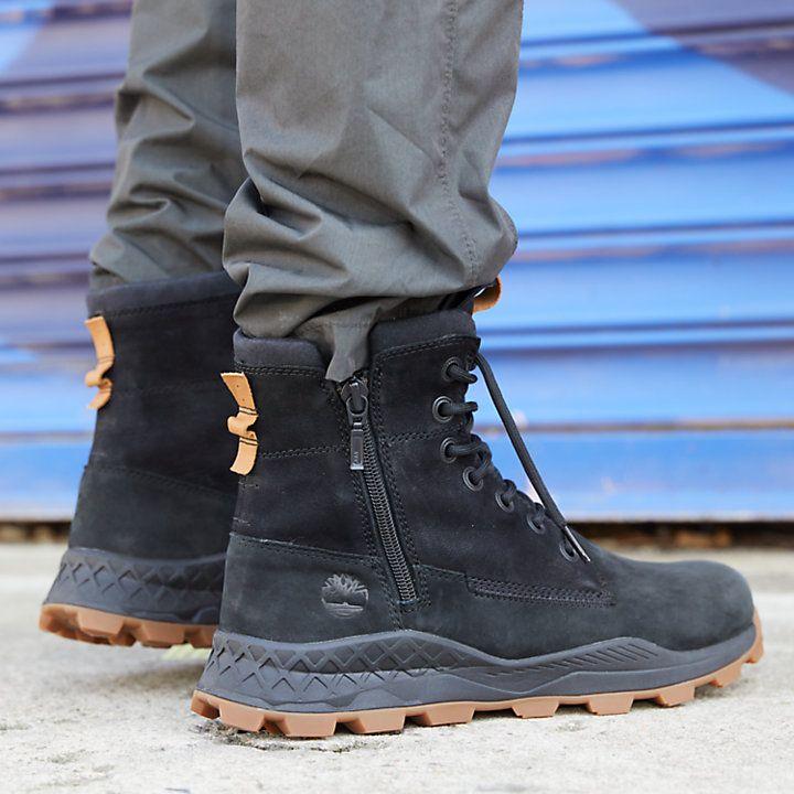 Brooklyn Side-Zip Sneaker Boots