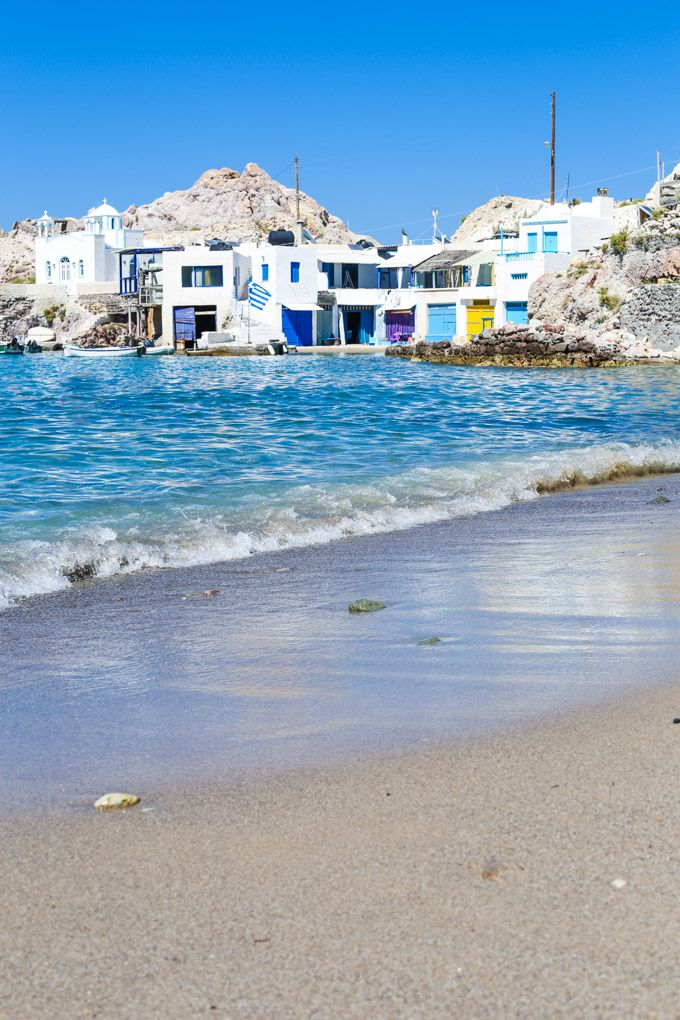 The top 7 beaches in Milos Greece - these Milos beaches are definitely worth a visit, each one unique in their own way.