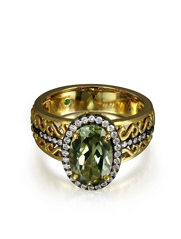 Imperial ring with Zultanite and other beautiful designs by Rhonda Faber Green