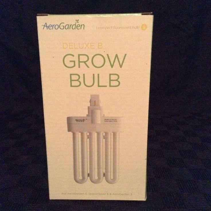 NIB Aerogarden 100340 26W Deluxe B Single Genuine Grow Bulb #AeroGarden