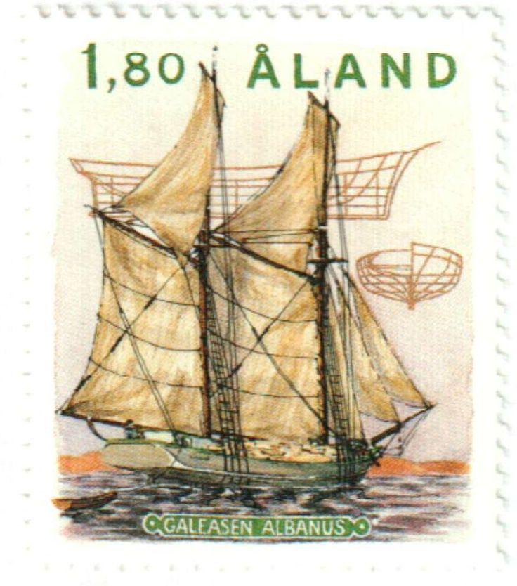 1988 Aland Islands Stamp Finland
