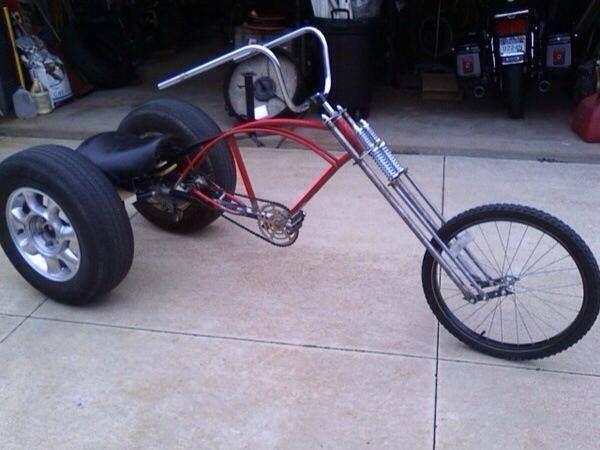 trike bicycle diy 3 4 wheel recumbent bikes pinterest. Black Bedroom Furniture Sets. Home Design Ideas