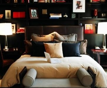 How to make your bedroom look like a hotel room. =)
