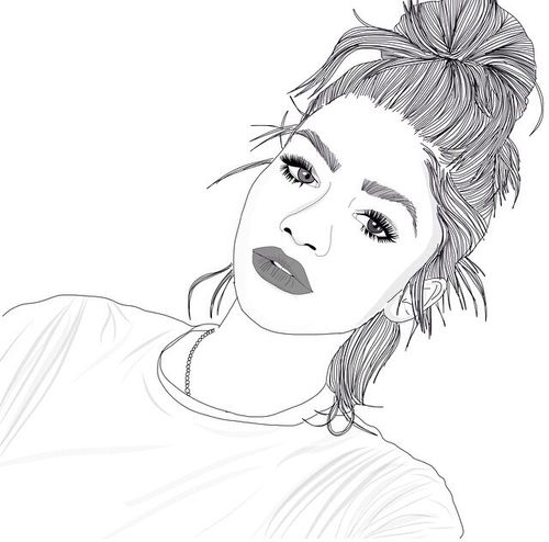 Line Drawing Instagram : Cause i ve got a jet black heart and there s