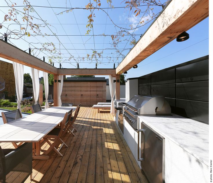 【自宅を遊び倒す】全部入り屋外リビング・ダイニング・キッチン   住宅デザイン