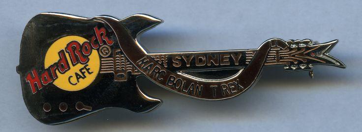 Sydney - Hard Rock Cafe Guitar Pin
