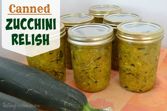Canned Zucchini Relish ~ UPDATED!!