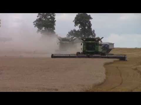 2014 Wheat Harvest filmed near Pembroke, Kentucky at Garnett Farms Grain & Cattle