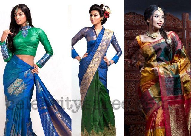 South Indian Silk Trendy Sarees