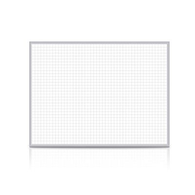 "Ghent Grid Wall Mounted Magnetic Whiteboard Size: 24"" x 36"""