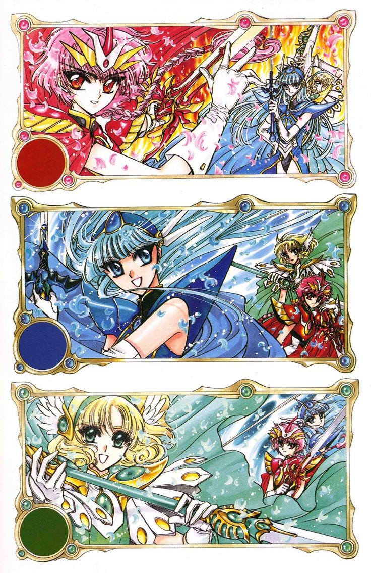 Magic Knight Rayearth/ Manga/ http://www.mangaeden.com/en-manga/magic-knight-rayearth/