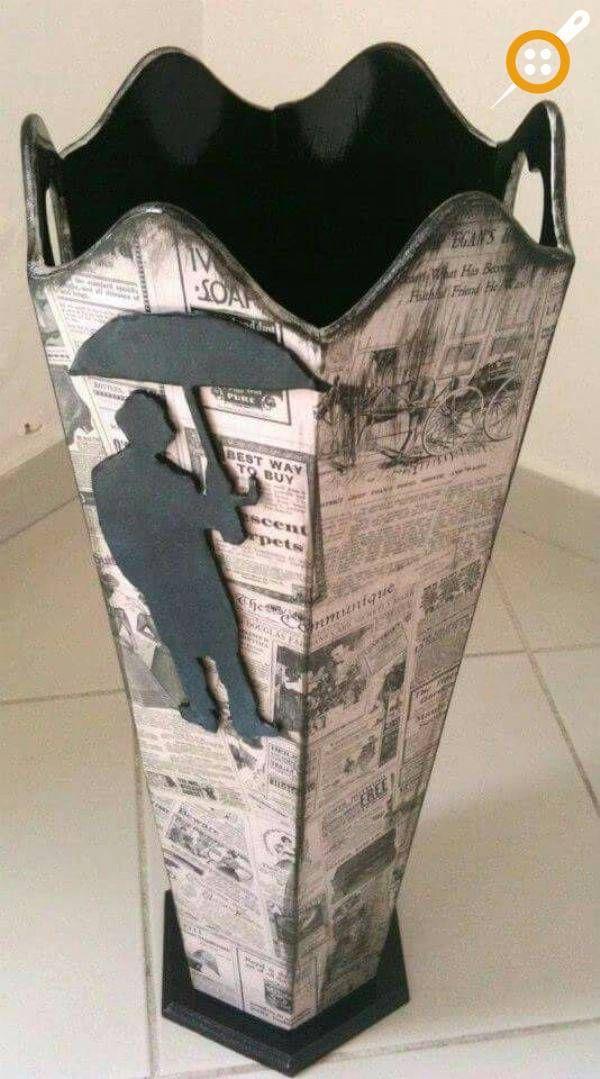 Ahşap boyama şemsiyelik modelleri