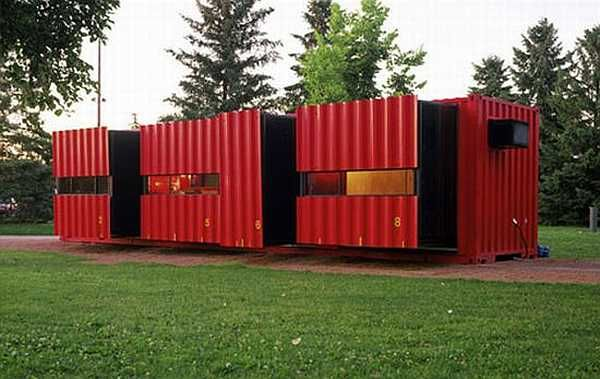 house from a shipping container